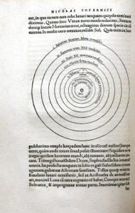 """Układ heliocentryczny z """"De revolutionibus orbium coelestium"""""""