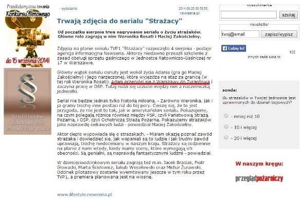 Zrzut strony strazak.org.pl