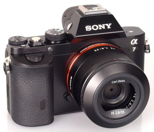 Sony Alpha 7s, fot. materiały producenta