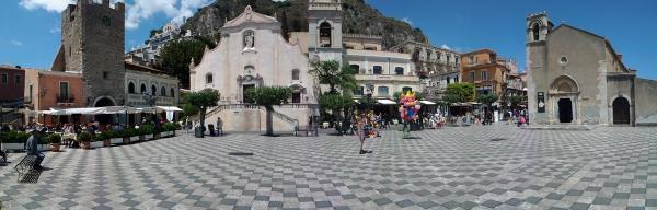 Taormina, Sycylia. Fot. archiwum prywatne Dariusza Ciarkowskiego